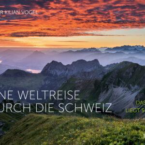 Buchcover Eine Weltreise durch die Schweiz