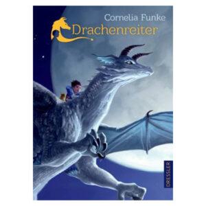 Buchcover Drachenreiter von Cornelia Funke