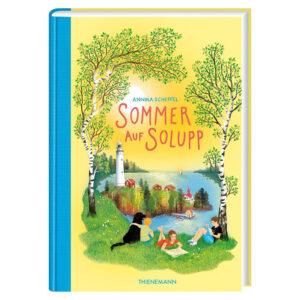 Buchcover Sommer auf Solupp von Annika Scheffel